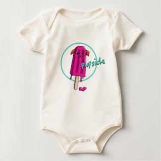 Body Para Bebê Ilustração da chalaça de Pupsicle