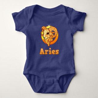 Body Para Bebê Ilustração do Aries