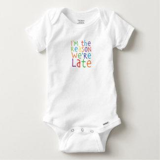 Body Para Bebê im a razão estavam atrasado