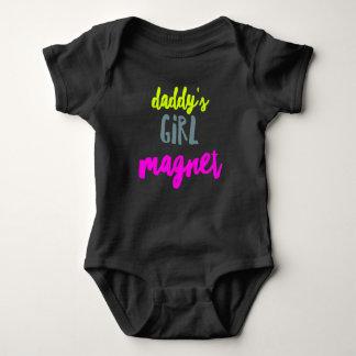 Body Para Bebê Ímã da menina do pai