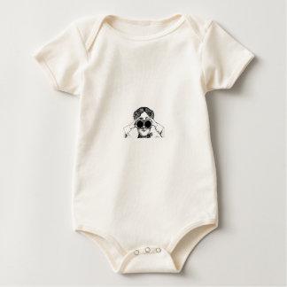 Body Para Bebê imagem da menina do espião