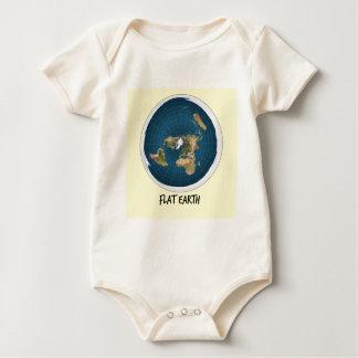 Body Para Bebê Imagem da terra lisa