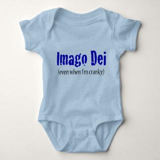 Body Para Bebê Imago Dei (mesmo quando eu sou irritadiço)