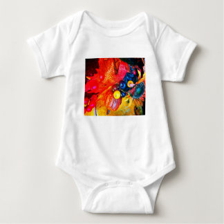 Body Para Bebê impressão do outono