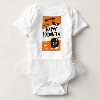 Body Para Bebê Impressão do partido do Dia das Bruxas - RASGO dos