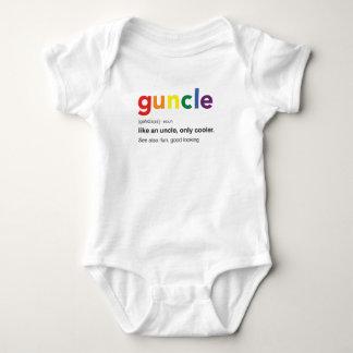 Body Para Bebê Impressão engraçado da definição de Guncle