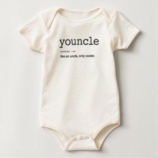 Body Para Bebê Impressão engraçado da definição de Youncle