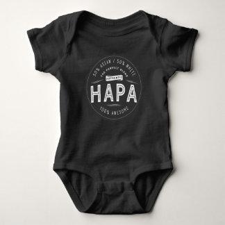 Body Para Bebê Impressionante branco asiático do bebê de Hapa
