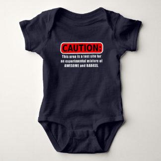Body Para Bebê Impressionante e Badass