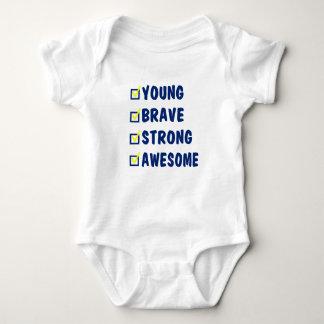 Body Para Bebê Impressionante forte bravo novo