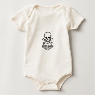 Body Para Bebê incursor da morte