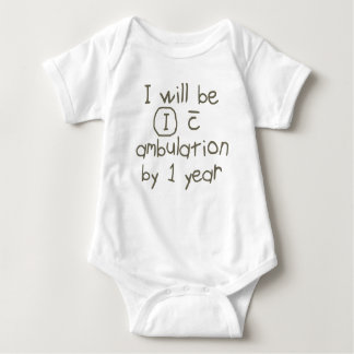 Body Para Bebê independente com escrita cinzenta pinta do