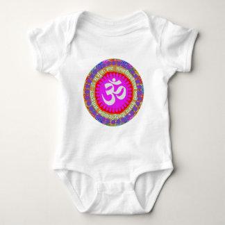 Body Para Bebê Indiano da ioga da religião da hinduísmo de
