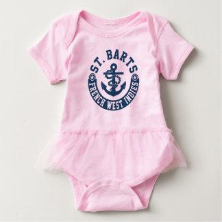 Body Para Bebê Índias Ocidentais do francês de St Barts