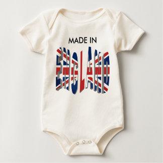 Body Para Bebê Inglaterra 22, FEITA DENTRO