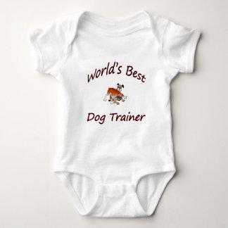 Body Para Bebê Instrutor de cão do mundo o melhor