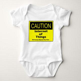 Body Para Bebê Internet do sinal de aviso do cuidado de IoT das