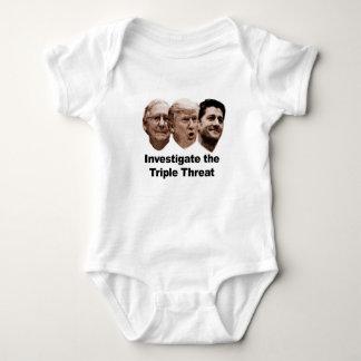 Body Para Bebê Investigue a ameaça tripla