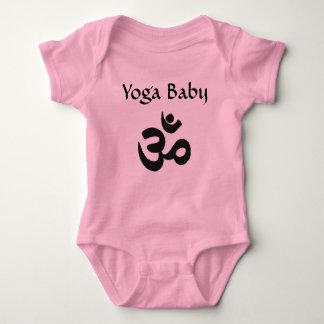 Body Para Bebê Ioga Hindu do bebê