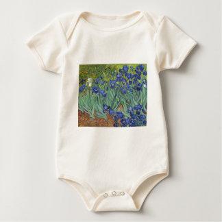 Body Para Bebê Íris azuis