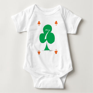 Body Para Bebê Irlandês afortunado 7 dos clubes, fernandes tony