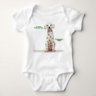 Body Para Bebê Irlandês Dalmation - bebê