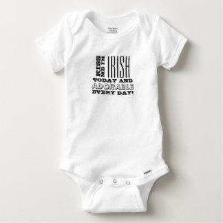 Body Para Bebê Irlandês hoje, adorável cada dia!