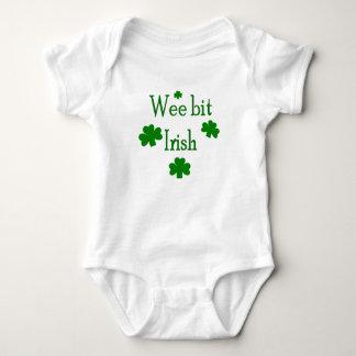 Body Para Bebê Irlandês pequenino do bocado