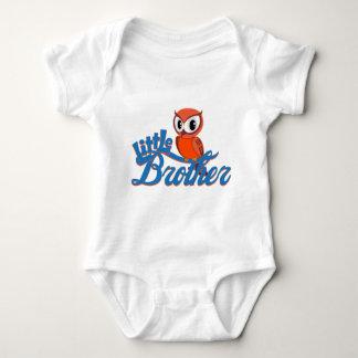 Body Para Bebê Irmão mais novo vibrante da coruja