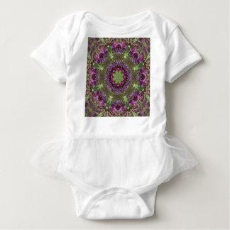 Body Para Bebê Ironweed gigante, caleidoscópio do Wildflower