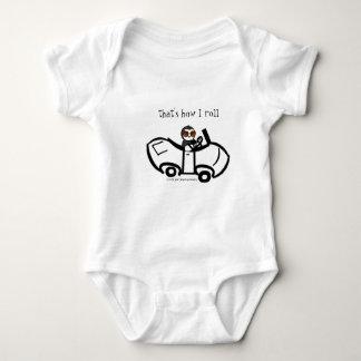 Body Para Bebê Isso é como eu rolo!