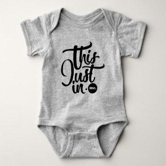 Body Para Bebê isto apenas no bodysuit do bebê