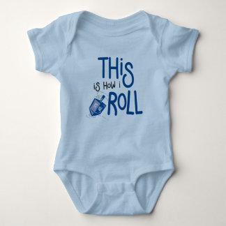 Body Para Bebê Isto é como eu rolo o equipamento do bebê de