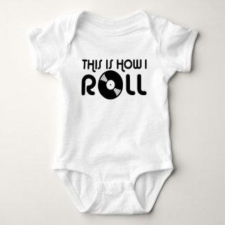 Body Para Bebê Isto é como eu rolo o vinil