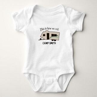 Body Para Bebê Isto é como nós rolamos o t-shirt