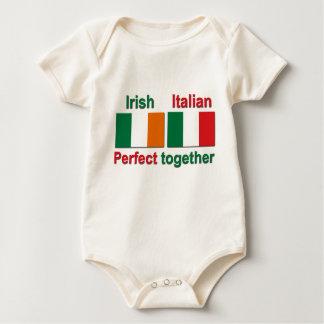 Body Para Bebê Italiano irlandês - aperfeiçoe junto!