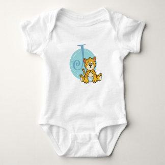 Body Para Bebê J é para Jaguar