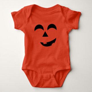 Body Para Bebê Jack-o-lanterna do Dia das Bruxas do bebê