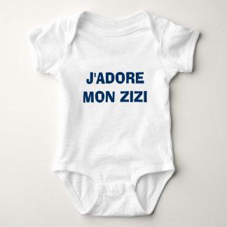 BODY PARA BEBÊ J'ADORE SEGUNDA-FEIRA ZIZI