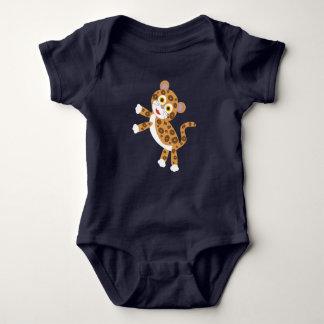 Body Para Bebê Jaguar - bebê da floresta húmida