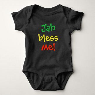 Body Para Bebê Jah abençoa-me t-shirt do bebê