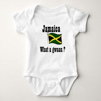 Body Para Bebê Jamaica t-camisa-que um gwaan