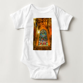 Body Para Bebê Janela de vitral