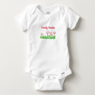 Body Para Bebê Jardim da azeda do bastão de doces