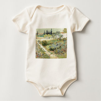 Body Para Bebê Jardim de Vincent van Gogh em Arles
