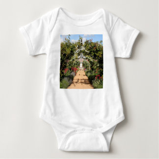 Body Para Bebê Jardim inglês velho