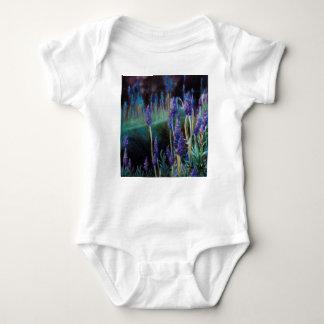 Body Para Bebê Jardim pela lagoa no crepúsculo