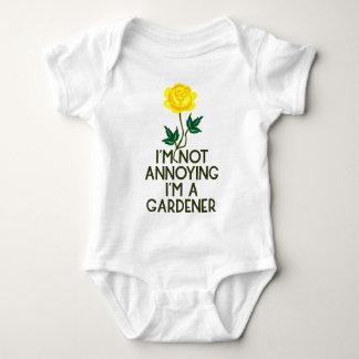 Body Para Bebê Jardineiro jardim flores Veggie plantada árvore