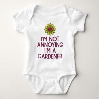 Body Para Bebê Jardineiro jardim flores Veggie plantada Floristin