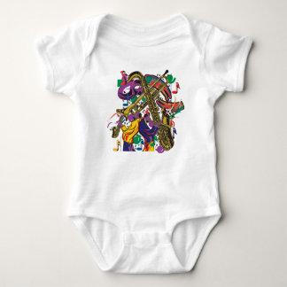 Body Para Bebê Jazzístico